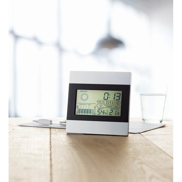 Branded Weather station and clock