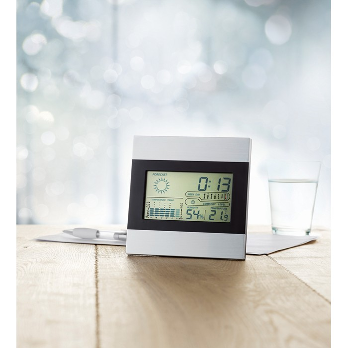 Printed Weather station and clock