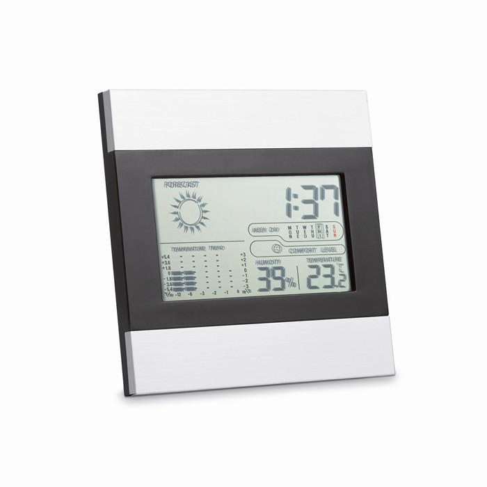 Promo Weather station and clock
