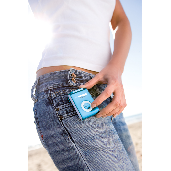 Branded Trendy Style Pedometer W/ Clip