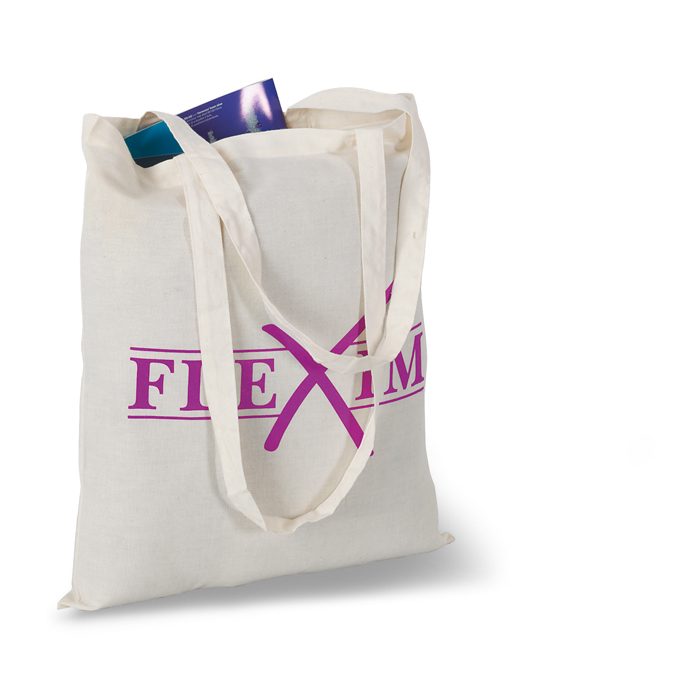 Printed Promotional shopping bags Shopping Bag With Long Handles
