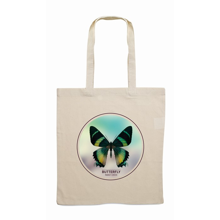 Engraved Shopping bag with long handles