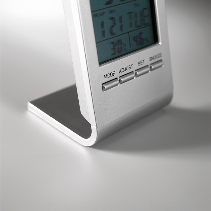 Branded Weather station with blue LCD
