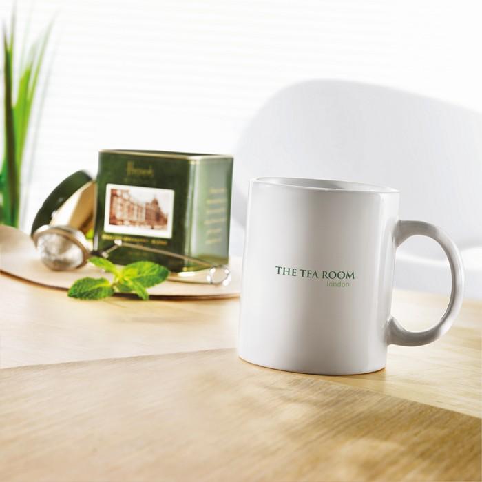Branded Classic ceramic mug in box