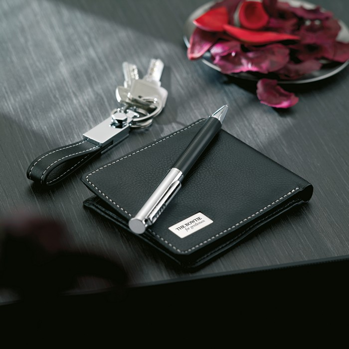 Promotional Ball pen key ring and wallet