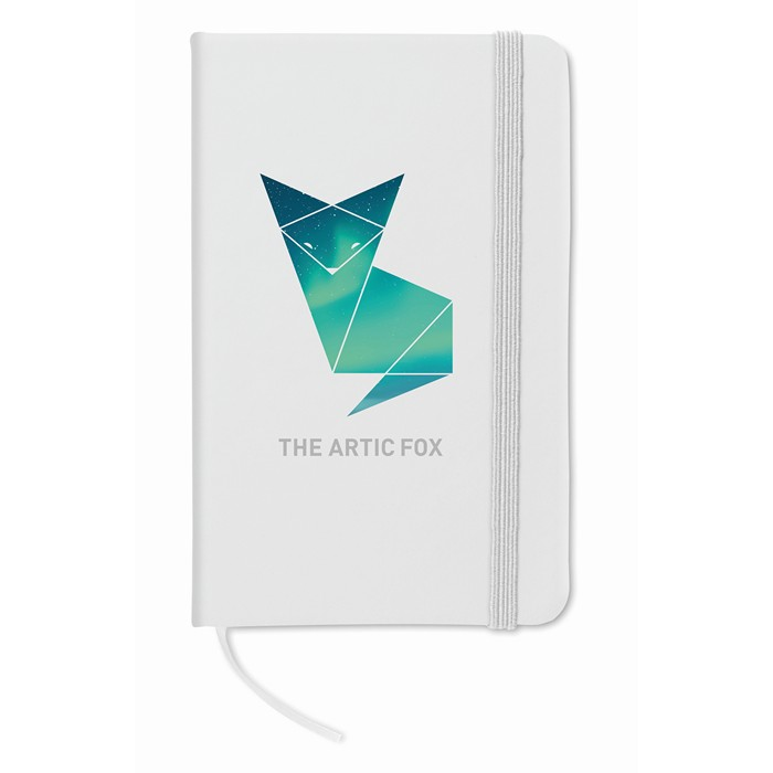 Personalised A6 notebook lined