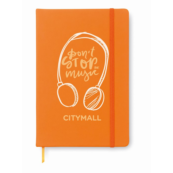 Business A6 notebook lined