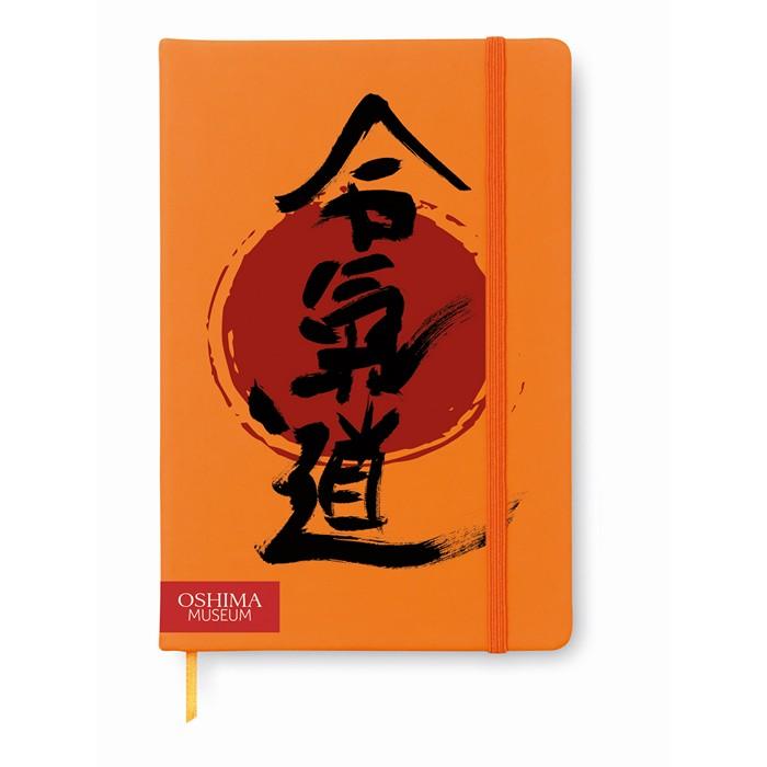 Embellished A5 notebook lined
