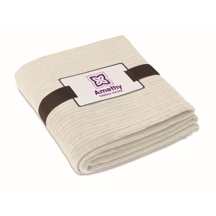 Embellished Fleece blanket, 240 gr/m2