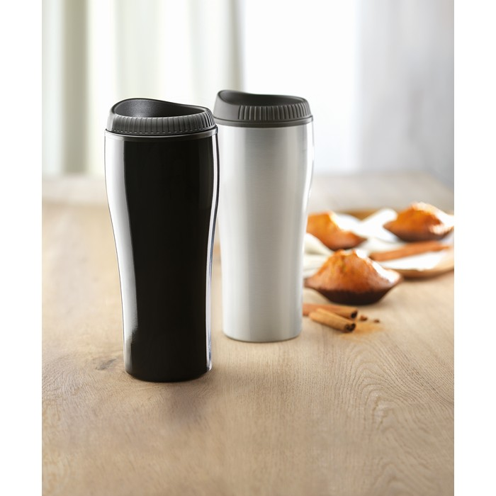 Branded Stainless steel travel cup