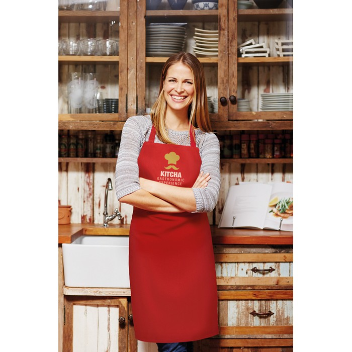 Branded Corporate aprons Kitchen apron in cotton
