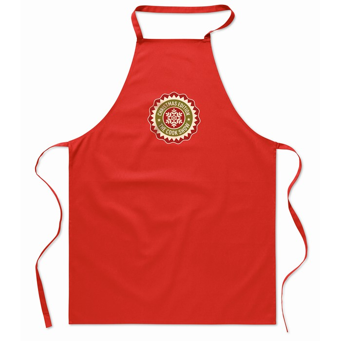 Printed Personalised aprons Kitchen apron in cotton