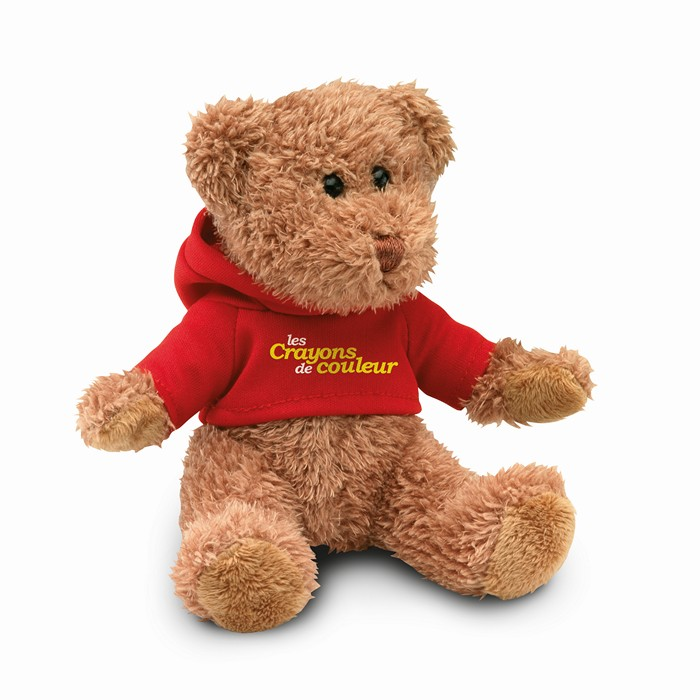 Printed Teddy Bear Plus With T-Shirt