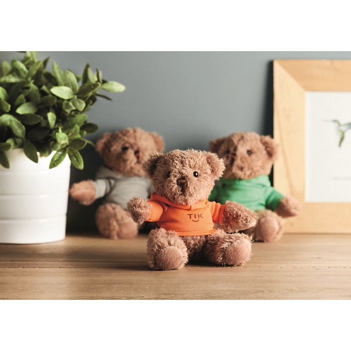 Engraved Teddy Bear Plus With T-Shirt