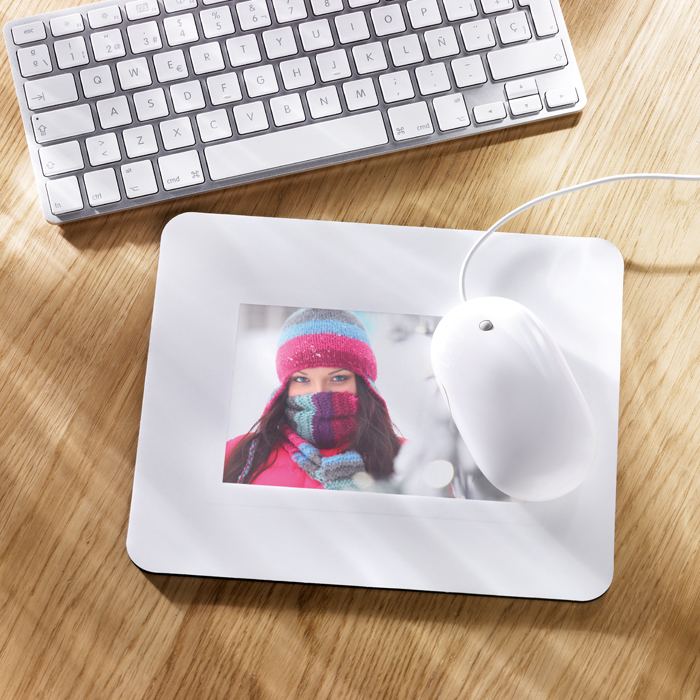 Promotional Mouse Pad With Picture Insert