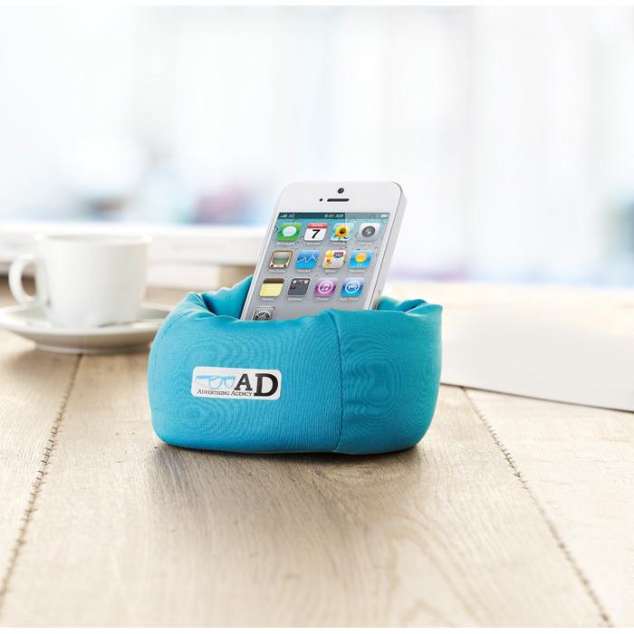 Branded Puffy Smartphone Holder