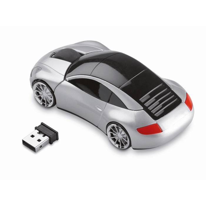 Branded Wireless mouse in car shape