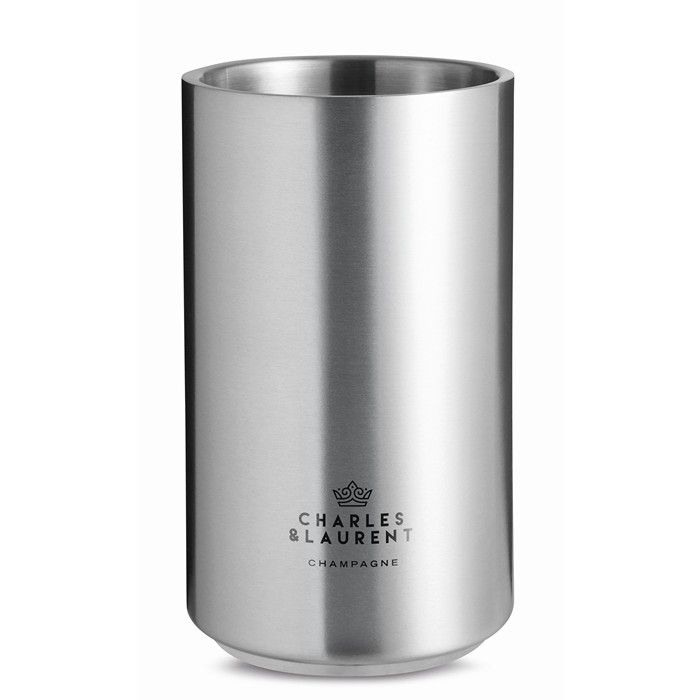 Personalised Stainless steel bottle cooler