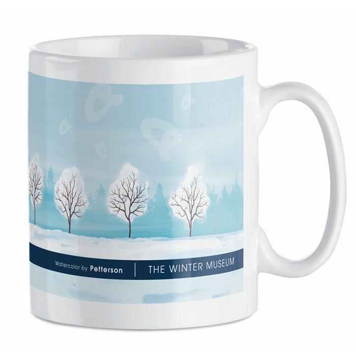 Engraved Sublimation mug