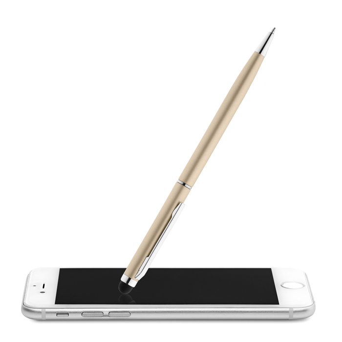 Printed Corporate stylus pens Twist And Touch Ball Pen