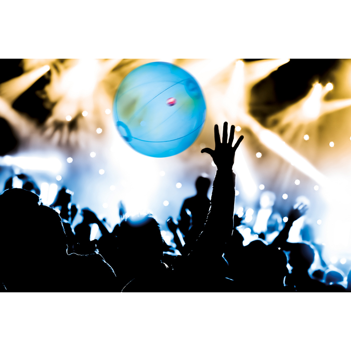 Promotional Inflatable Beachball W Light