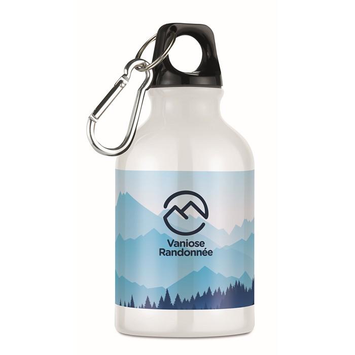 Personalised 300ml aluminium bottle