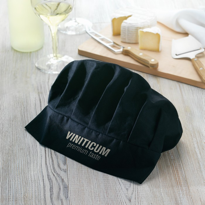 Personalised Cotton chef hat 130 gsm