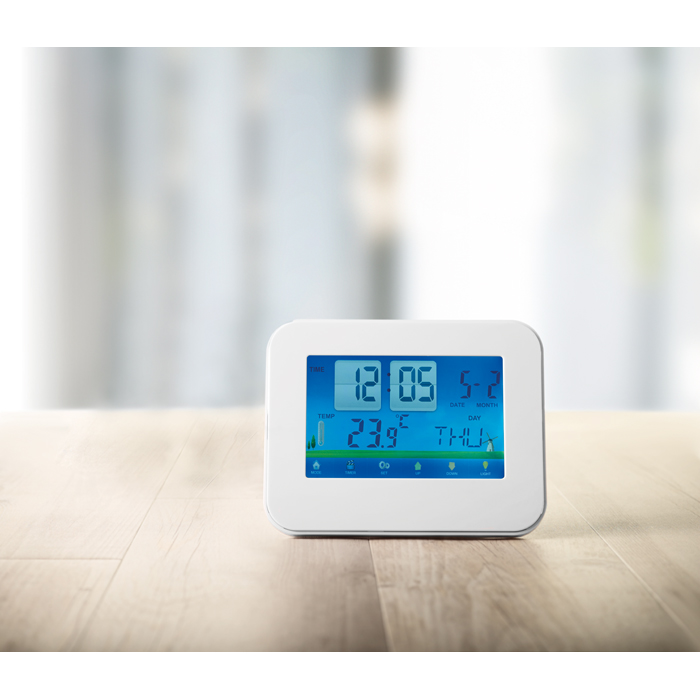Personalised Weather Station Touch Screen