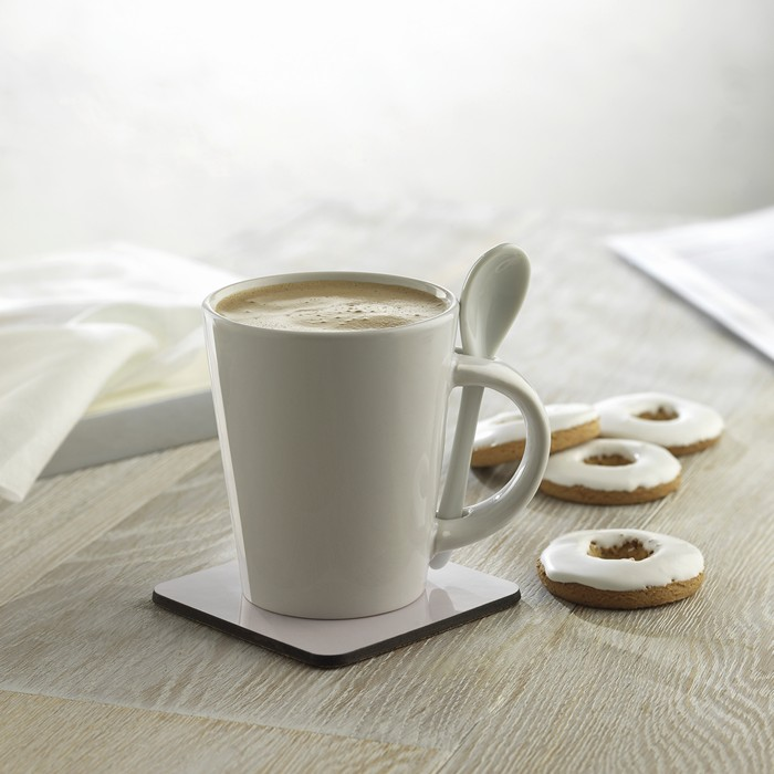 Promotional Sublimation mug with spoon