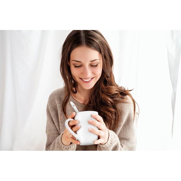 Promo Sublimation mug with spoon