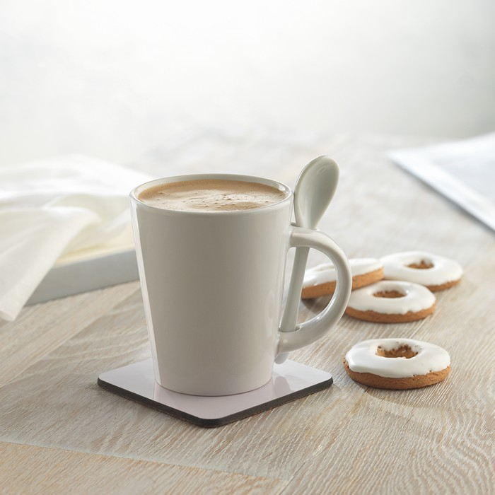 Business Sublimation mug with spoon