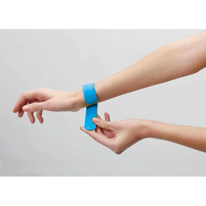 Promotional Silicone Snap Bracelet