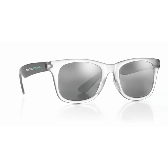Promotional Sunglasses with mirrored lense