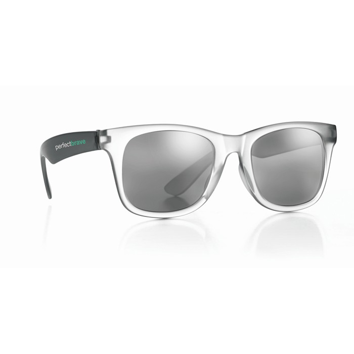Branded Sunglasses with mirrored lense