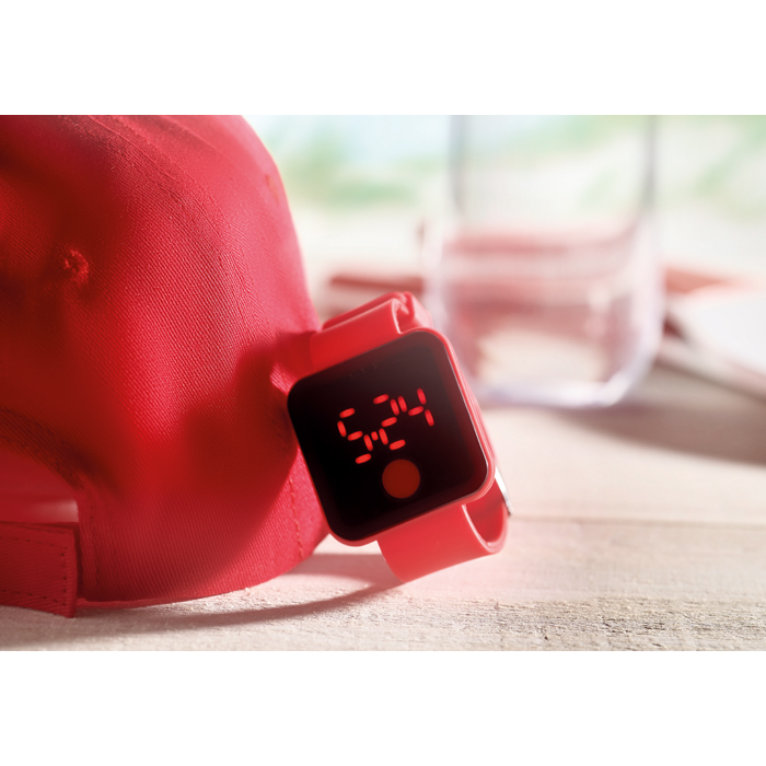 Promotional Red Led Watch