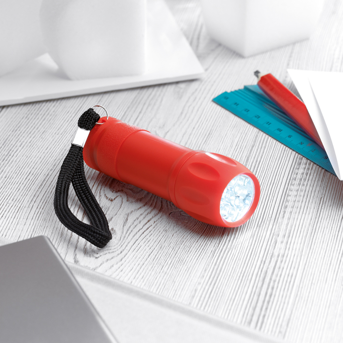 Promotional 9 White Led Torch