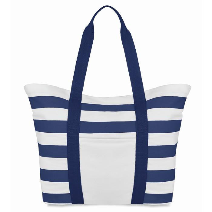 Branded Beach Bag Striped