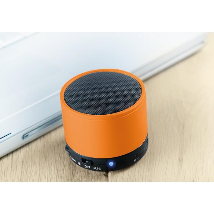 Engraved Round Bluetooth speaker