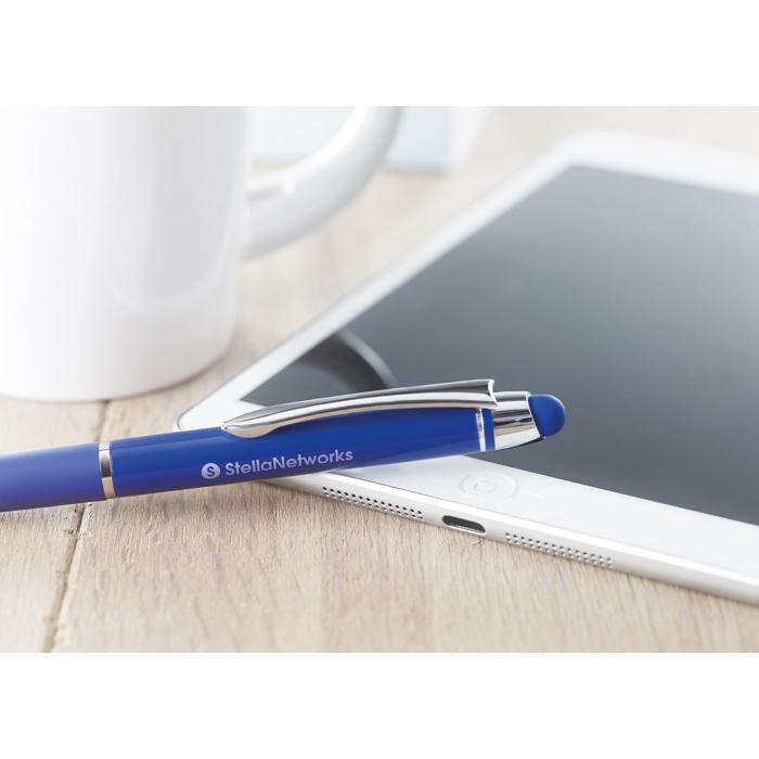 Printed Aluminium pen with stylus