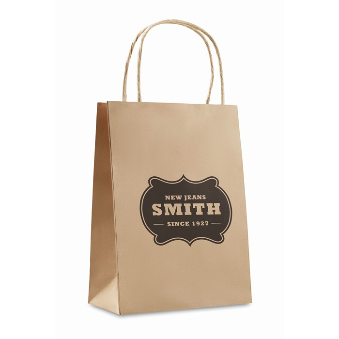 Personalised Gift paper bag small size