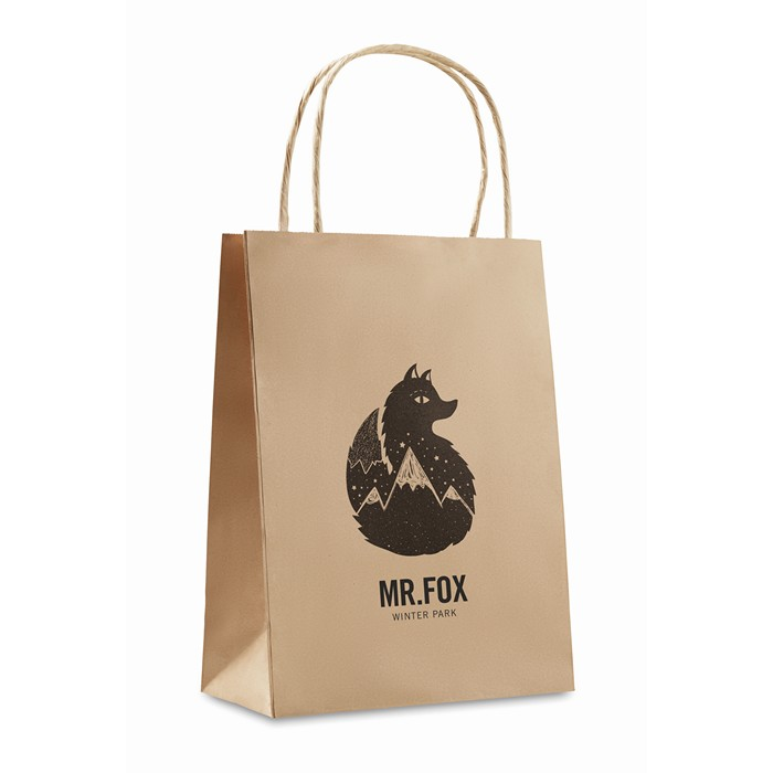 ImPrinted Gift paper bag small size
