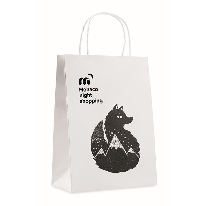 Branded Gift paper bag medium size