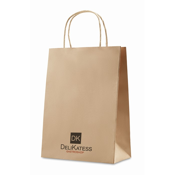 Engraved Gift paper bag medium size