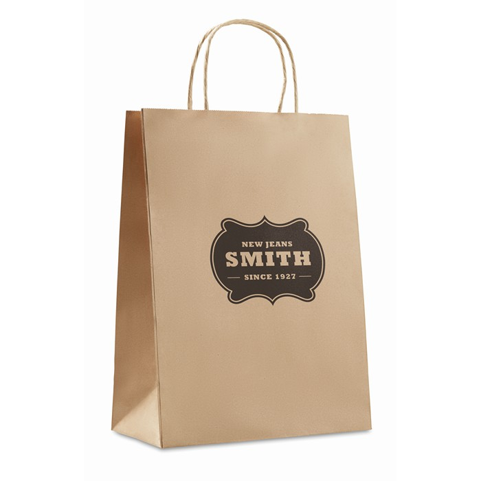 Printed Gift paper bag large size