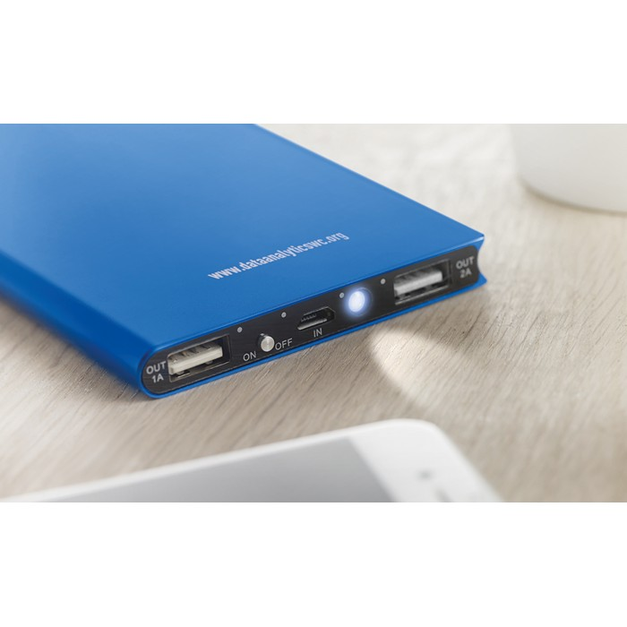 Printed Personalised powerbanks Power Bank 8000 Mah