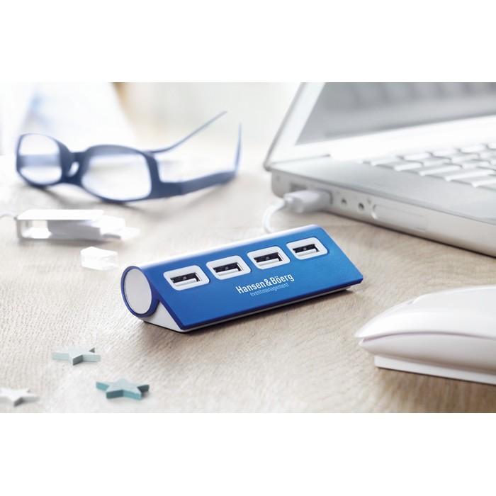 Branded 4 port USB hub