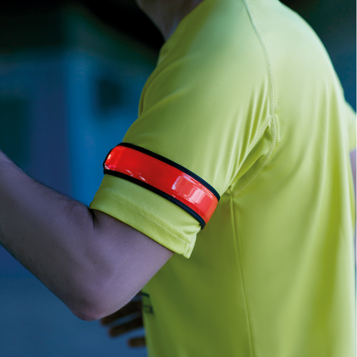 Printed Arm snap strap with light