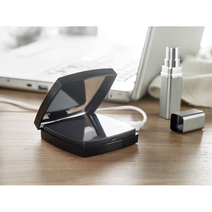 Promotional 2 In 1 Powerbank And Mirror