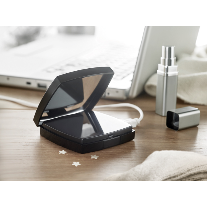 Corporate 2 In 1 Powerbank And Mirror