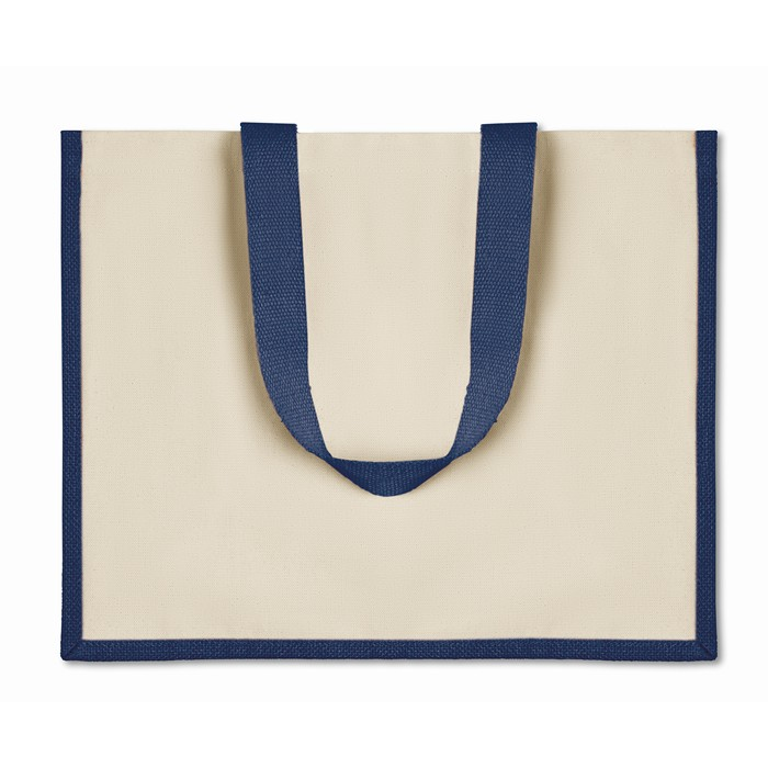 Promotional Jute and canvas shopping bag